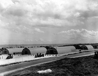 509th Composite Group - First Ordnance Squadron area on Tinian