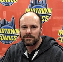 King during an appearance at Midtown Comics in Manhattan