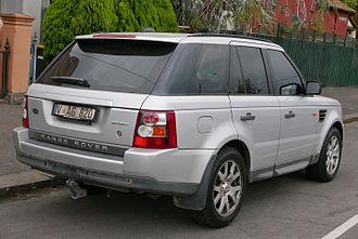Range Rover Sport - Pre–facelift Range Rover Sport TDV6 (Australia)