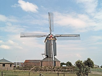 Valburg - Image: 2006 06 20 15.07 Valburg, molen