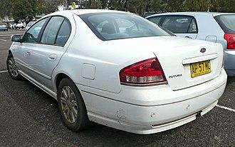 Ford Falcon (BF) - Image: 2006 Ford Falcon (BF) Futura sedan (2009 11 16)