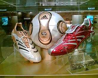 Adidas Predator - Adidas Predator Absolute with the 2006 World Cup Adidas match ball