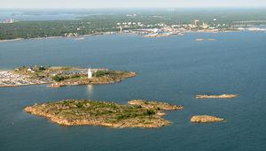Hanko Peninsula - Tullholmen (gäddtarmen) in Hanko