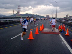 2008TaipeiExpressMarathon Marathon Classes Checkpoint.jpg