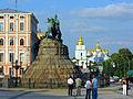2008 08 10 - 0837 - Kyiv - Bohdan Khmelnytsky and St Michael's Monastery.jpg