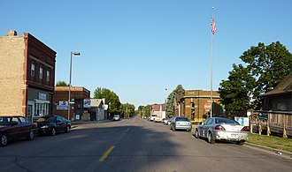 Elysian, Minnesota - Downtown Elysian