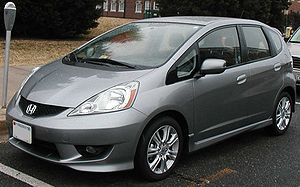 2009 Honda Fit photographed in College Park, M...