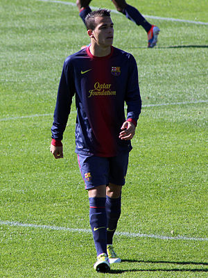 Sandro Ramírez - Sandro in Barcelona colours, 2012