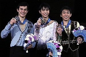 2013–14 Grand Prix of Figure Skating Final - The men's medalists