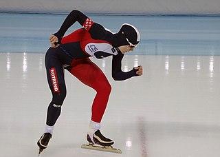 Karolína Erbanová Czech speed skater