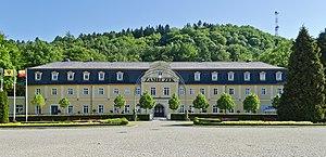 Kudowa-Zdrój - Zameczek – a palace-styled sanatorium and park