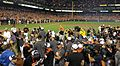 2014 Orioles clinch American League East pennant.JPG