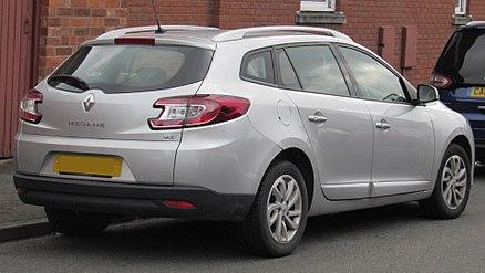 Second Facelift Renault Megane D Que Estate United Kingdom