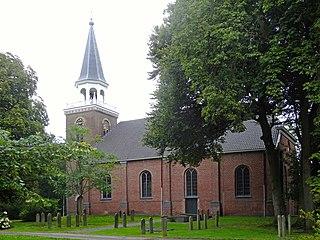 Blijham Village in Groningen, Netherlands
