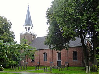 Blijham - Dutch Reformed Church of Blijham in 2015