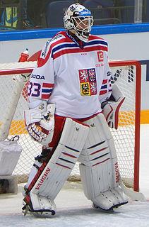 Pavel Francouz Czech ice hockey player