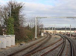 2015 at Reading West Curve - connection to new Feeder Line.JPG