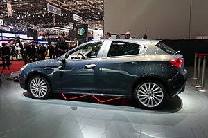 Alfa Romeo Giulietta (940) - Giulietta in Geneva Motor Show (2016).