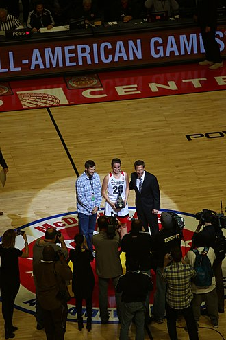 Sabrina Ionescu - Sabrina Ionescu as MVP of the 2016 McDonald's All-American Girls Game