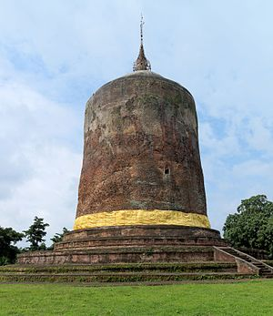 Pyu city-states - Bawbawgyi Pagoda at Sri Ksetra, prototype of Pagan-era pagodas