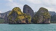 2016 Prowincja Krabi, Widoki ze statku płynącego na trasie Ao Nang - Ko Lanta Yai (32).jpg