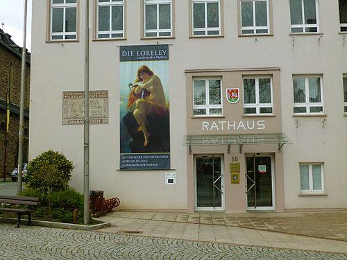 2016 Rüdesheim Rathaus Loreley151.JPG