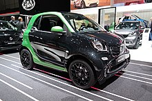 Smart Fortwo Ed At Geneva Motor Show 2017