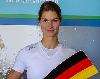 Carina Bär German rower
