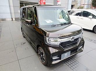 Honda N-Box - Image: 2018 Honda N Box (2nd generation)