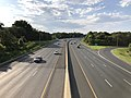 2019-07-24 18 24 01 View north along Interstate 695 (Baltimore Beltway) from the overpass for Maryland State Route 7 (Philadelphia Road) on the edge of Rossville and Rosedale in Baltimore County, Maryland.jpg