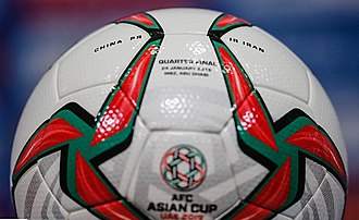 2019 AFC Asian Cup - Molten Acentec football used in the tournament.