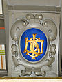 250513 Heraldic cartouche in the chapel of the castle in Baranow Sandomierski - 05.jpg