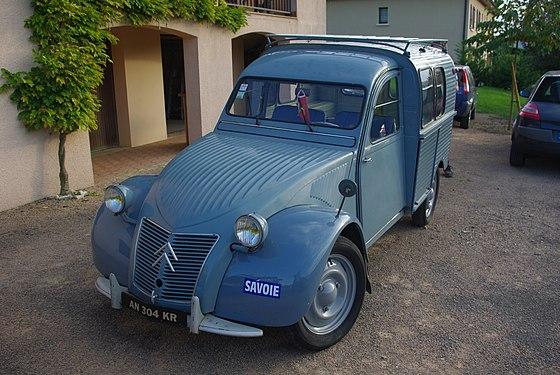 Gut bekannt Citroën 2CV fourgonnette - Wikiwand MW45