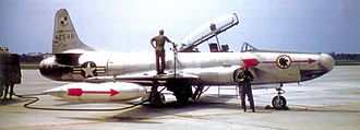 Lockheed F-94 Starfire - F-94A 49-2548, 2d Fighter-Interceptor Squadron, McGuire AFB, NJ