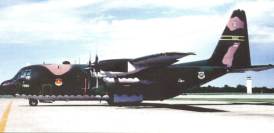317th Tactical Airlift WIng C-130E Hercules 63-7890
