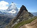 3948 - Gornergrat - Matterhorn and Riffelhorn.JPG