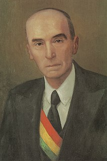 Néstor Guillén Bolivian judge and 40th President of Bolivia