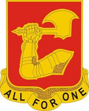 40th Field Artillery Regiment - Image: 40 FA Rgt DUI