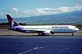 427bl - Hawaiian Airlines Boeing 767-33AER; N591HA@OGG;03.10.2006 (4950212854).jpg