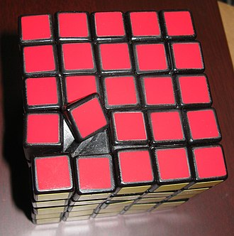 Professor's Cube - An original cube with a misaligned center. This cannot occur on the Eastsheen or V-Cube puzzles.