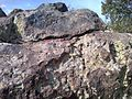 5-50 more close to see sharp edges of broken melted and glazed surfaces of top strata - panoramio.jpg