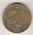 50 Centavos de Cruzeiro BRZ de 1955.png