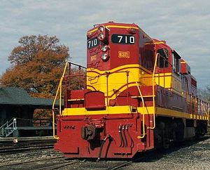 Tennessee Valley Railroad Museum - Image: 710 edited