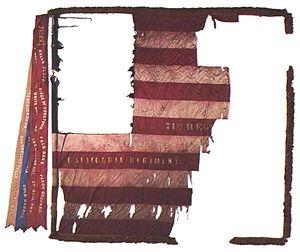 71st Pennsylvania Infantry - Regimental flag of the 71st Pennsylvania Volunteer Infantry