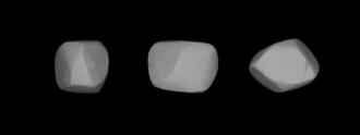 800 Kressmannia - A three-dimensional model of 800 Kressmannia based on its light curve