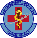92 Aeromedical Dental Sq emblem.png
