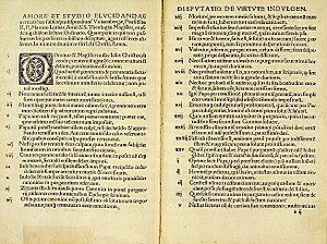The 95 Theses, circa 1517. Written in protest ...