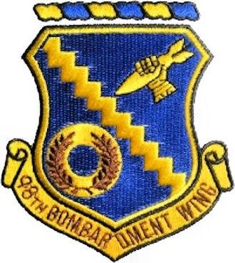 Nevada Test and Training Range (military unit) - Emblem of the 98th Bombardment Wing (Medium)