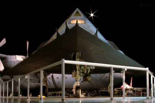 A294, Lockheed F-117A, National Museum of the USAF, Dayton, Ohio, USA, 2008