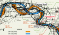 ABANDONED SHIPWRECKS ON MISSOURI RIVER CHANNEL MAPS OF 1879 AND 1954 - BLUE MILLS TO LEXINGTON, MILE 358.3 - 323.4 (Sibley).png